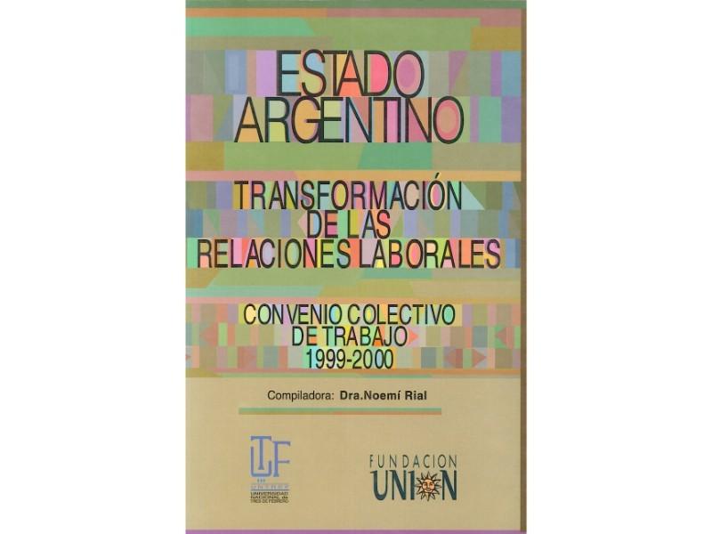 Estado Argentino. Transformación