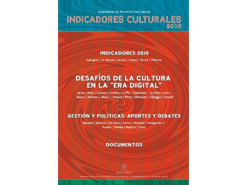 Indicadores Culturales 2010