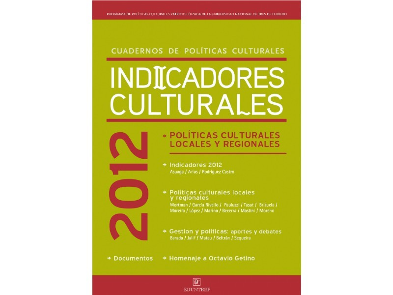 Indicadores Culturales 2012