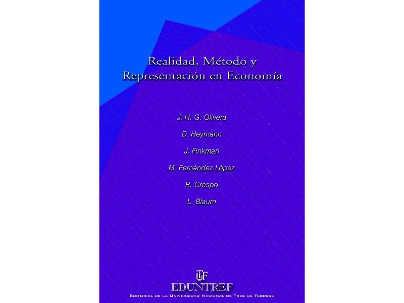 Realidad método y representacion en economía
