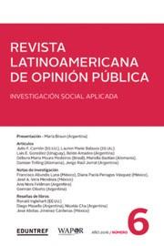 Revista latinoamericana de opinión pública