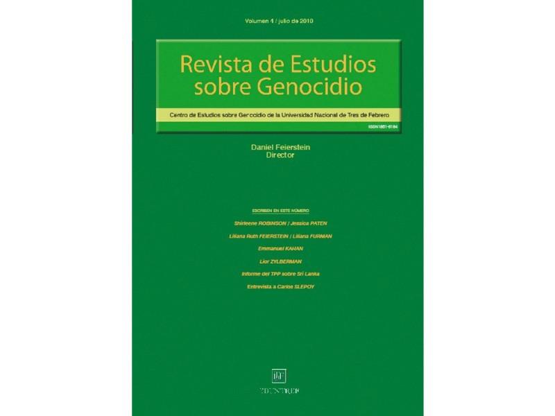 Revista de Estudios sobre Genocidio 4