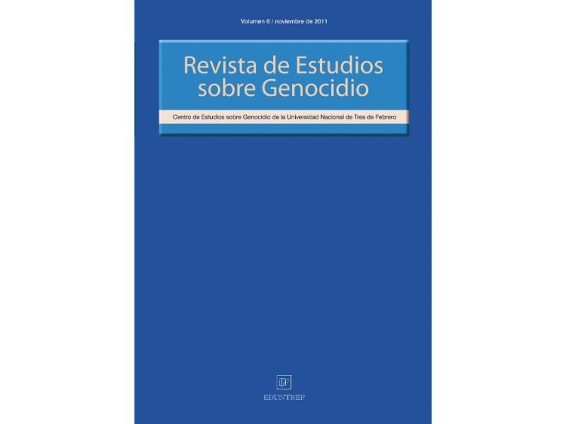 Revista de Estudios sobre Genocidio 6