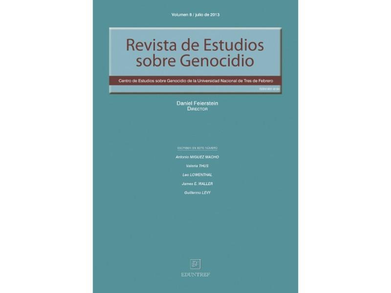 Revista de Estudios sobre Genocidio 8